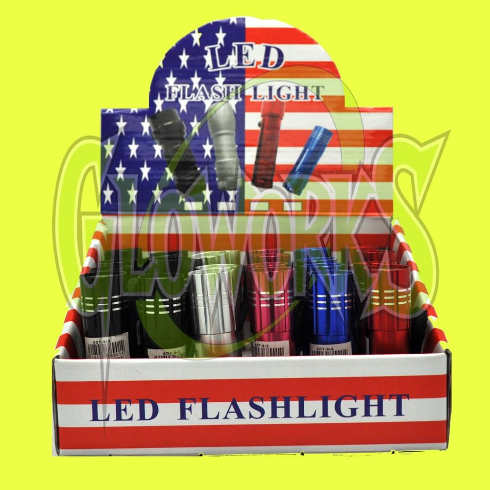 12 LED FLASHLIGHT (1 PIECE)