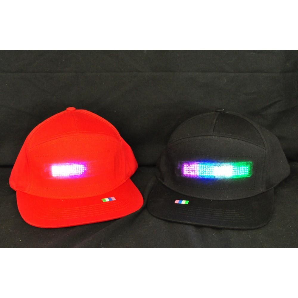 LED Scrolling Hat
