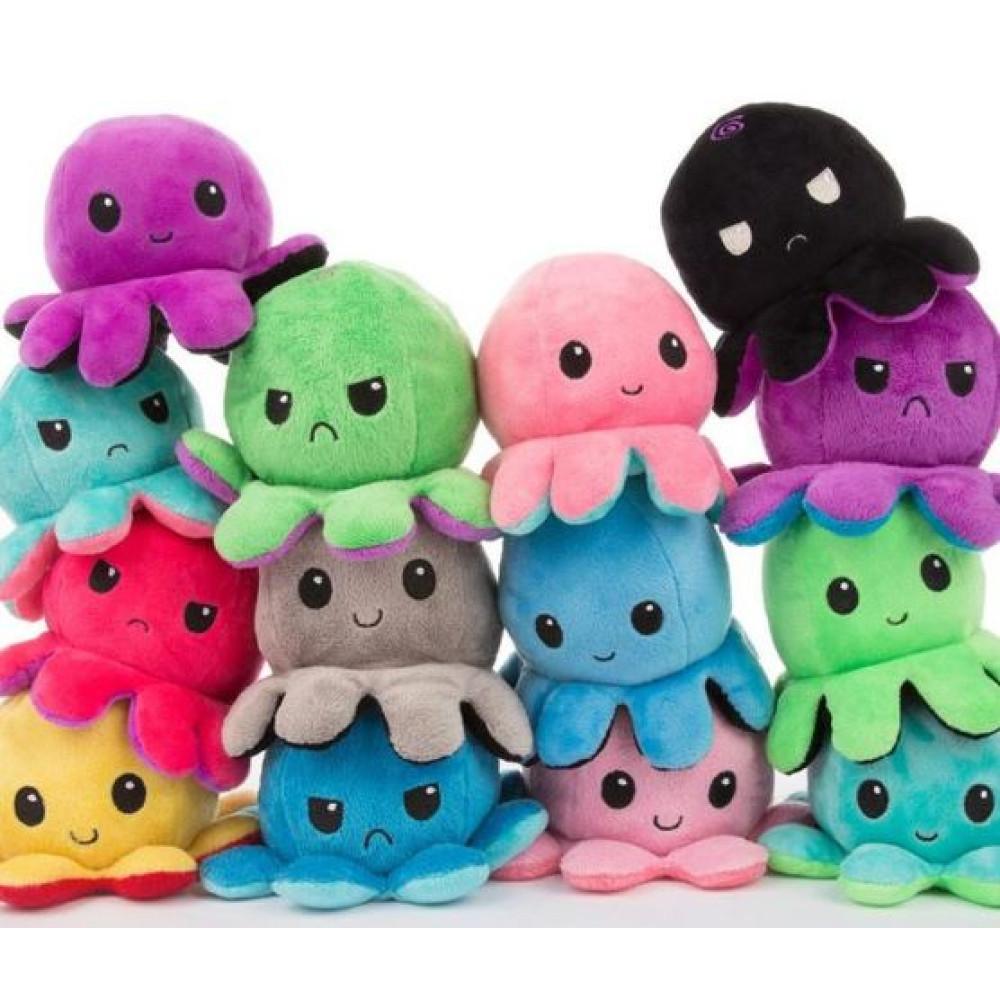 Reversible Plush Octopus