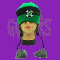 Green Lantern Knit Laplander Hat (1 PIECE)