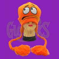 M&M's Big Face Orange Laplander Hat (1 PIECE)