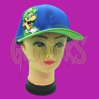 Nintendo Super Mario Bros. Luigi Snapback Ball Cap (1 PIECE)