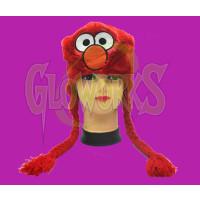 Elmo Red Fuzzy Laplander Hat (1 PIECE)