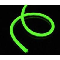 NEON SOFT LIGHT TUBING - GREEN  1 METER