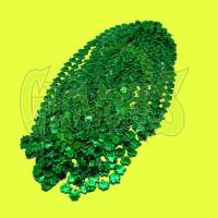 ST. PATTY'S SHAMROCK GREEN BEADS (1 PIECE)