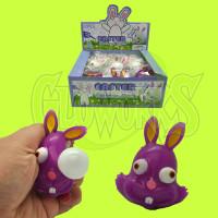 Squeeze Eyeball Bunnies - Asst. Colors (1 PIECE)