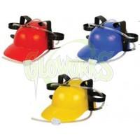 Plastic Hat with Drink Dispensers - Asst. Colors (1 PIECE)