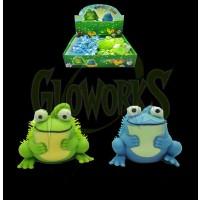 Mini Flashing Frog Puffer - Asst. Colors (1 PIECE)