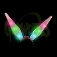 Flashing Inflate Bunny Ears (1 PIECE)