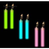 GLOW EARRINGS - ASSORTED COLORS (1 PAIR)
