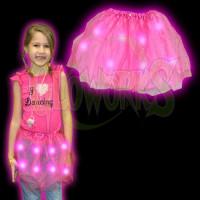 Flashing Pink Tutu (1 PIECE)