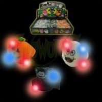 Halloween Flashing Rings - Asst. Shapes (1 PIECE)