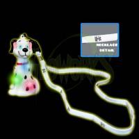 Dalmatian Flashing Charm with Cloth Lanyard (1 PIECE)
