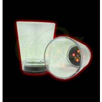 LED SHOT GLASS WITH DICE (1 DOZEN)