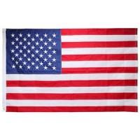 LARGE 3' X 5' USA FLAG (1 PIECE)