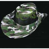 CAMO SAFARI VENTED BOONIE HAT (1 PIECE)