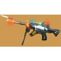 CAMO LED MACHINE GUN WITH SOUND (1 PIECE)