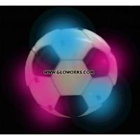 SOCCER BALL FLASHING MAGNETIC LED PIN (1 DOZEN)
