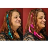 FEATHER HAIR EXTENSIONS (1 DOZEN)