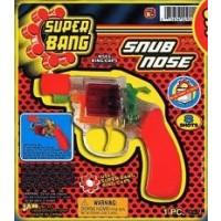 8 SHOT RING CAP GUN SNUB NOSE (1 PIECE)