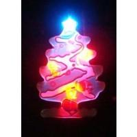CHRISTMAS TREE MAGNETIC LED PIN (1 DOZEN)