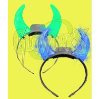 LED DEVIL HORNS CRYSTAL (1 PIECE)