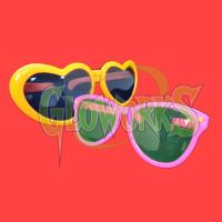 Jumbo Non-Flash Eyeglasses - Asst. Shapes & Colors (1 PIECE)