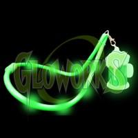 BEERMUG FLASHING LANYARD - GREEN (1 PIECE)