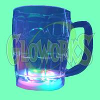 LED GLASS - 12OZ BEER MUG (1 PIECE)