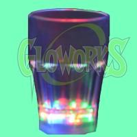 LED GLASS - 8OZ WHISKEY (1 PIECE)