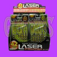 LASER POINTER - 42 HEADS (1 PIECE)