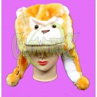 SHORT ANIMAL HAT - MONKEY (1 PIECE)