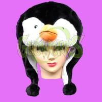 SHORT ANIMAL HAT - PENGUIN (1 PIECE)