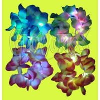 LED LEI BRACELET - ASSORTED COLORS (1 PIECE)