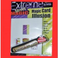 MAGIC CARD ILLUSION (1 PIECE)