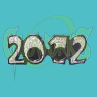 2012 NON-FLASH GLITTER GLASSES - ASSORTED (1 PIECE)