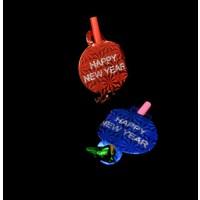 NON-FLASHING NEW YEARS BLOWERS (12 PER PACK)
