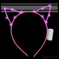 LED FLASHING  CAT EARS (1 PIECE)
