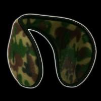 CAMO PRINT EAR MUFFS (1 PIECE)