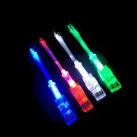 FIBER OPTIC LED FINGER LIGHTS (1 PACK OF 4)