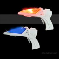 LED FLASHING MINI FINGER GUN WITH SOUND (1 PIECE)
