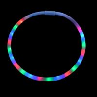 20 LEDs FLASHING NECKLACE - MULTI COLOR (1 PIECE)