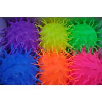 """9"""" Flashing Puffer Ball with Tassles - Asst. Colors (1 PIECE)"""