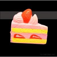 "2.5""  SLOW RISING SQUISHY  CAKE SLICE ( 1 PIECE)"