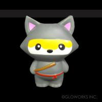 """4.5""""  NINJA FOX SQUISHY (1 PIECE)"""