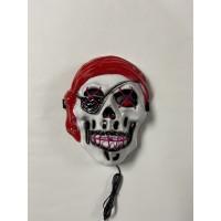Pirate EL-WIRE Halloween mask