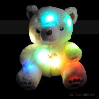 "16"" ULTRA PLUSH LED TEDDY BEAR (1 PIECE)"