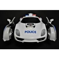 POLICE TRANSFORMING TOY CAR