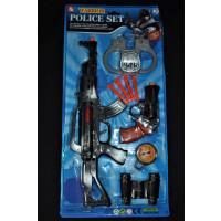 WARRIOR POLICE TOY GUN SET